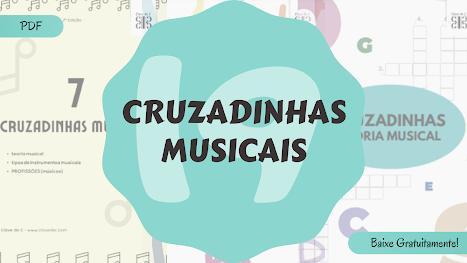 Atividades de música - cruzadinhas musicais pdf
