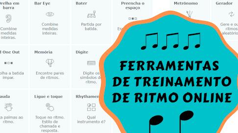treinamento de ritmo online aprender ritmos musicais