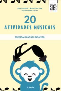 atividades de música pdf - musicalização infantil - figuras musicais