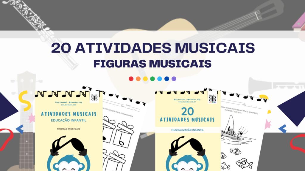 atividades musicais em pdf - educação infantil